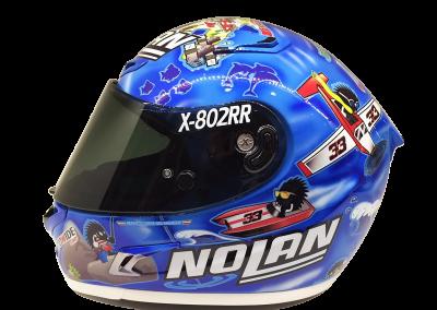 Melandri Imola Nolan X-802RR